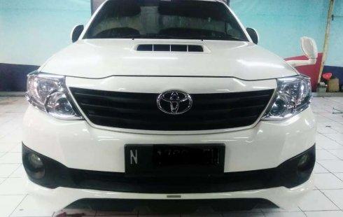 Jual cepat Toyota Fortuner G TRD 2013 di Jawa Timur