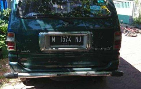 Mobil Toyota Kijang 1998 LGX dijual, Jawa Timur