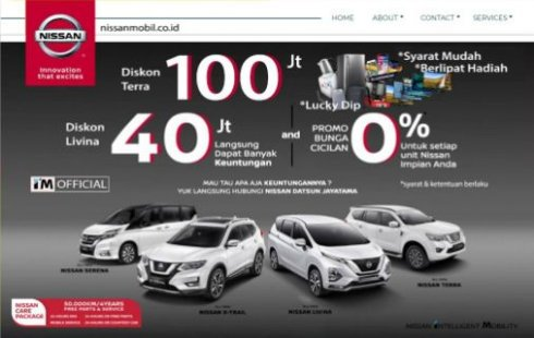 Promo New Normal Nissan Terra 2020 Bunga 0 % Jabodetabek