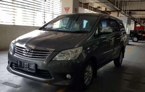 Mobil Toyota Kijang Innova 2012 2.0 G dijual, DKI Jakarta