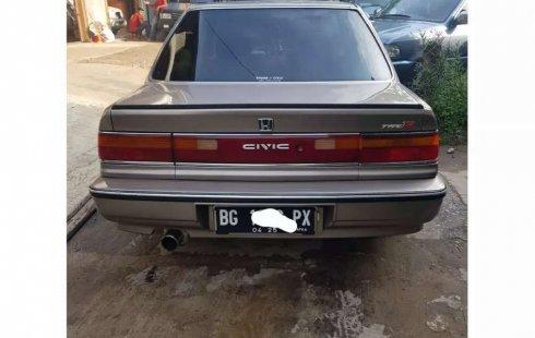 Jual Honda Civic 1991 harga murah di Sumatra Selatan