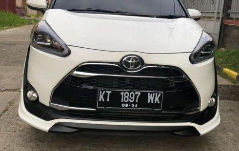 Jual cepat Toyota Sienta Q 2019 di Kalimantan Timur