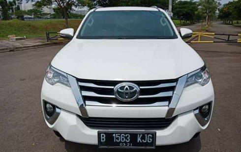 Jual Toyota Fortuner G 2016 harga murah di Banten