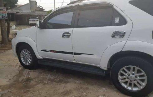 Toyota Fortuner 2014 Lampung dijual dengan harga termurah