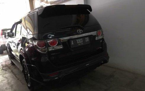 Dijual mobil Toyota Fortuner G TRD VNT 2014 di Banten