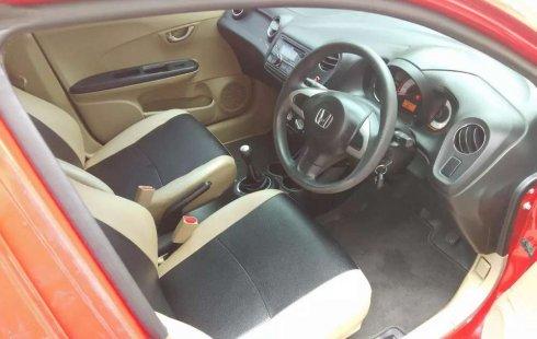Jual mobil Honda Brio Satya 2014 bekas, Riau