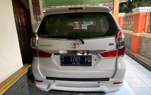 Jual Toyota Avanza G 2017 harga murah di Jawa Barat
