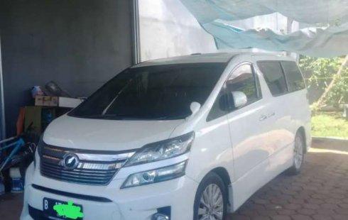 Jual mobil bekas murah Toyota Vellfire Z 2012 di Banten