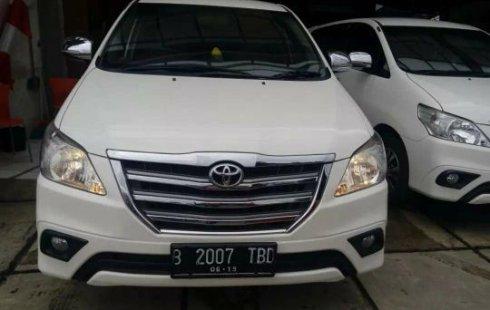 Dijual mobil bekas Toyota Kijang Innova 2.0 G Bekasi