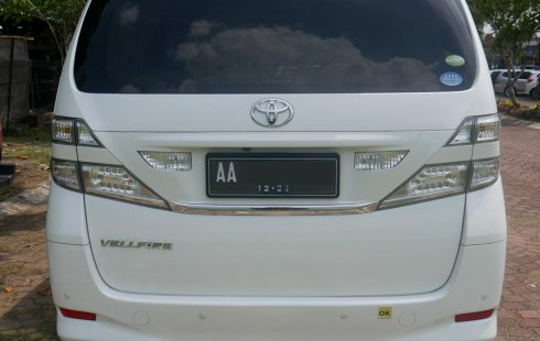 Dijual [Harga Corona] Toyota Vellfire Z 2010 area Salatiga, Jawa tengah
