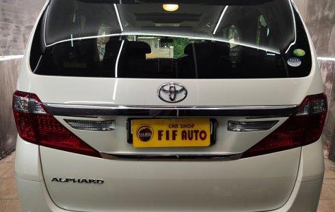 Dijual Cepat Mobil Toyota Alphard 2.4 S At 2012 di DKI Jakarta