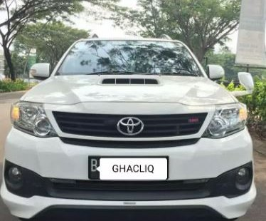 Dijual Cepat Toyota Fortuner G TRD 2015 di Bekasi