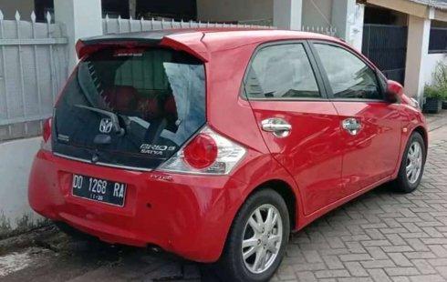 Jual mobil bekas murah Honda Brio Satya E 2015 di Sulawesi Selatan