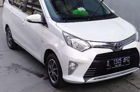 Jual cepat Toyota Calya G 2017 di Jawa Barat