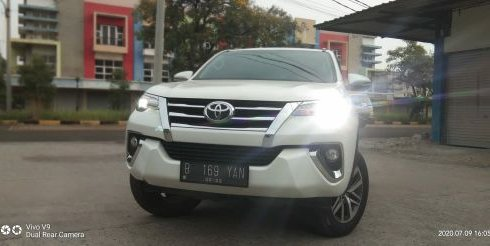 Dijual Cepat Toyota Fortuner VRZ 2017 di Bekasi