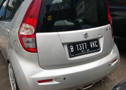 Dijual mobil Suzuki Splash GL 2014 Silver Mulus Bekasi