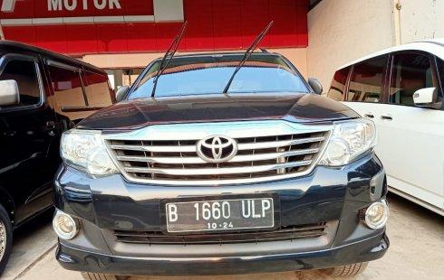 Jual Mobil Toyota Fortuner G 2012 di Bekasi