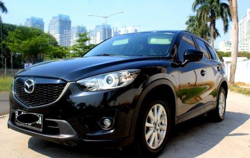 Dijual Cepat Mazda CX-5 Sport 2012 Hitam, DKI Jakarta