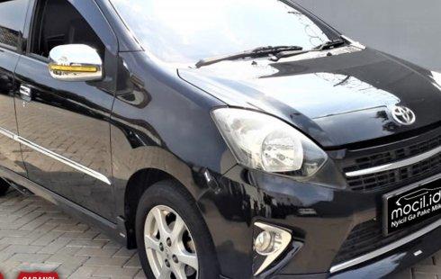 Jual cepat mobil Toyota Agya G TRD 1.0 AT 2016 di DKI Jakarta