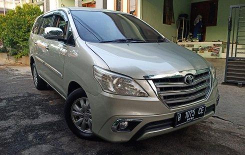Dijual Mobil Toyota Kijang Innova 2.5 G 2014 di Jawa Tengah