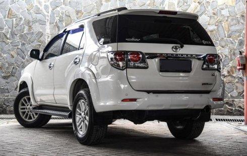 Jual Mobil Toyota Fortuner G 4x4 VNT 2013 di DKI Jakarta