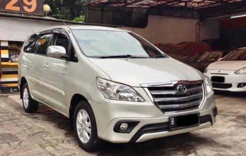Jual Mobil Bekas Toyota Kijang Innova 2.5 G 2014 di DKI Jakarta