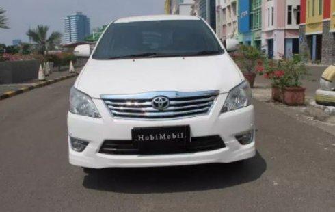 Jual Mobil Bekas Toyota Kijang Innova V Luxury 2013 di DKI Jakarta