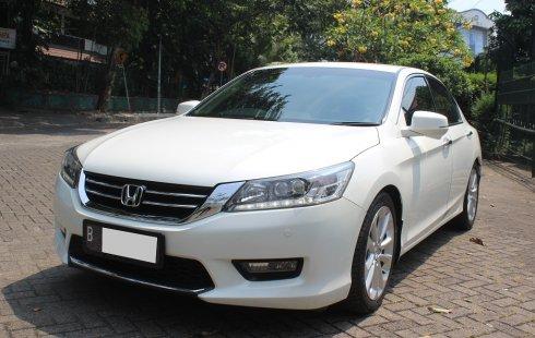 Dijual Mobil Honda Accord 2.4 VTi-L 2015 Putih di DKI Jakarta