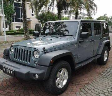 Dijual Mobil Jeep Wrangler Rubicon Unlimited 2015 di DI Yogyakarta