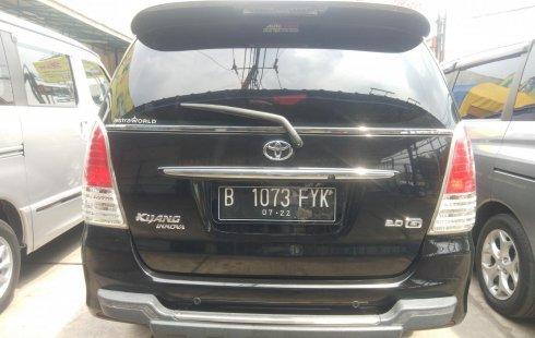 Jual Mobil Toyota Kijang Innova 2.0 G 2010 murah di Bekasi