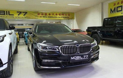 BMW 7 Series 730 Li 2018 Hitam