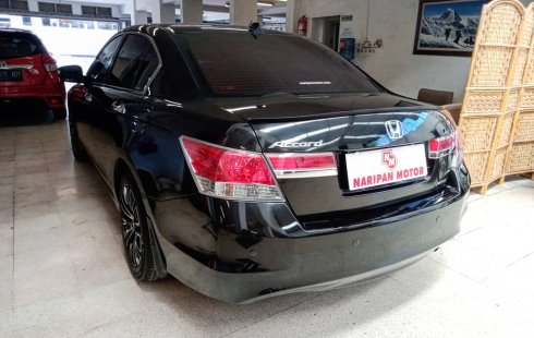 Honda All New Accord 2.4 FullSize VtiL AT 2012 Hitam Mutiara Km Rendah