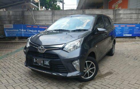 Toyota Calya G 1.2 AT 2019 Abu-Abu Metalik