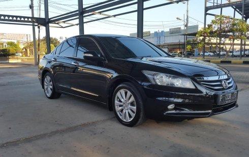 Jual Honda Accord 2.4 VTi-L 2011 Black On Beige Mulus Pjk Pjg TDP 42Jt di DKI Jakarta