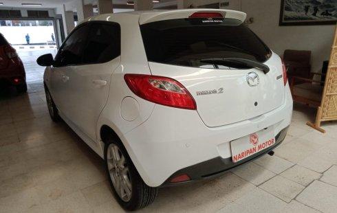 Dijual Mazda 2 1.5 HB Sport AT 2012 Putih Km Rendah Antik di Jawa Barat