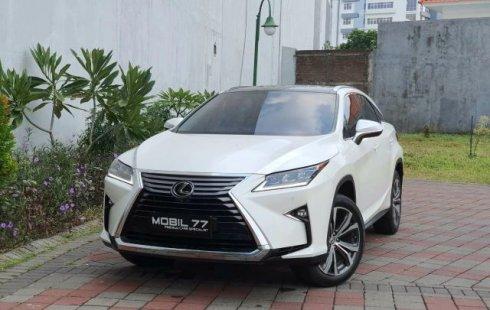Dijual Lexus RX 200T 2016 di Jawa Timur