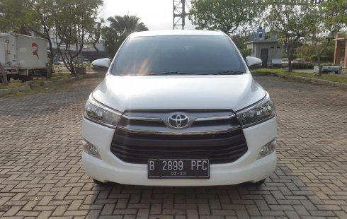 Toyota Kijang Innova 2.0 G AT White On Beige Mulus Terawat TDP 63Jt