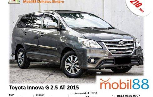 TDP Ringan!!! Toyota Kijang Innova G Diesel 2.5 AT 2015 Bergaransi