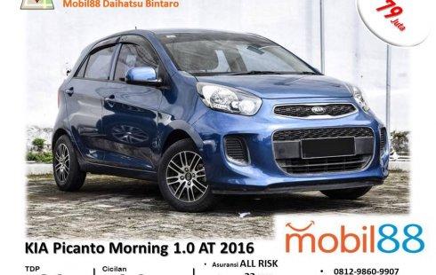 TDP Ringan!!! Kia Picanto Morning 1.0 Matic 2016 BERGARANSI