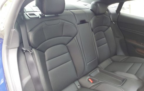 Brand New 2020 Porsche Taycan 4S Gentian Blue Metallic on Black