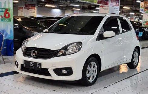 2018 Honda Brio E 1.2 MT Bensin Putih Surabaya