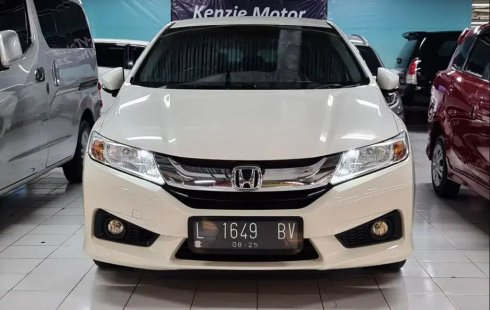 2015 Honda City E 1.5 AT Bensin Putih Surabaya