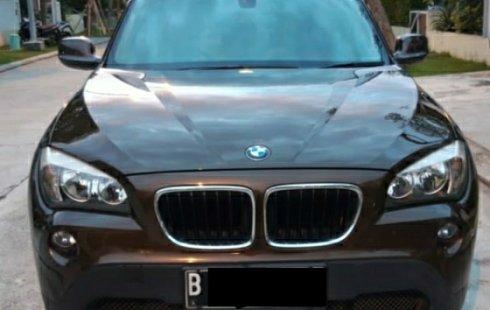 For Sale BMW X1 S drive thn 2012 Coklat Metalik AT Triptonic