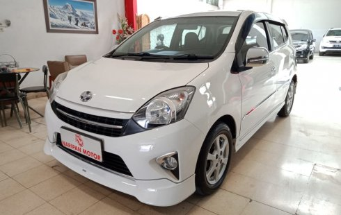 Toyota Agya 1.0 G TRD Sportivo AT 2014 Putih Murah Irit