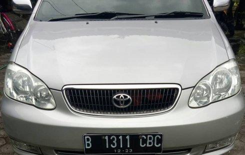 dijual segera Toyota Corolla Altis 1.8 G Manual 2001