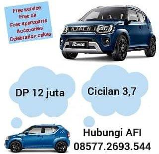 Promo Suzuki Ignis termurah DP 13 jutaan