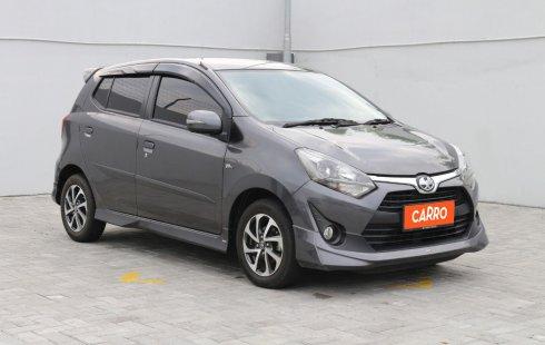 Toyota Agya 1.2 G TRD Sportivo AT 2018 Abu-abu