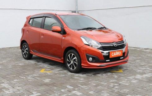 Daihatsu Ayla 1.2 R Deluxe MT 2019 Orange
