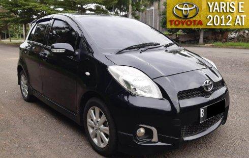 Toyota Yaris E 2012 1.5 AT Black