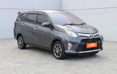 Toyota Calya G AT 2017 Abu-abu